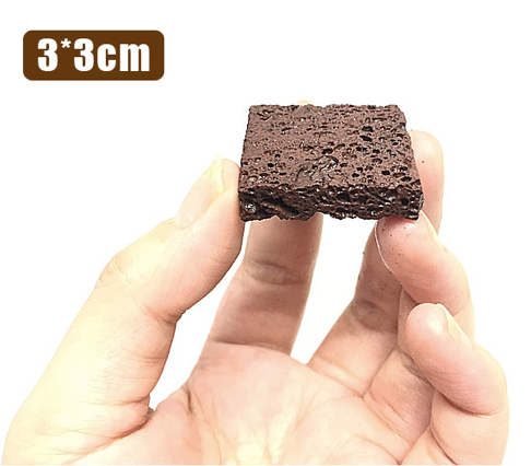 GUSH Lava Rock Mini Block (3pc per Pack / 1cm Thick)