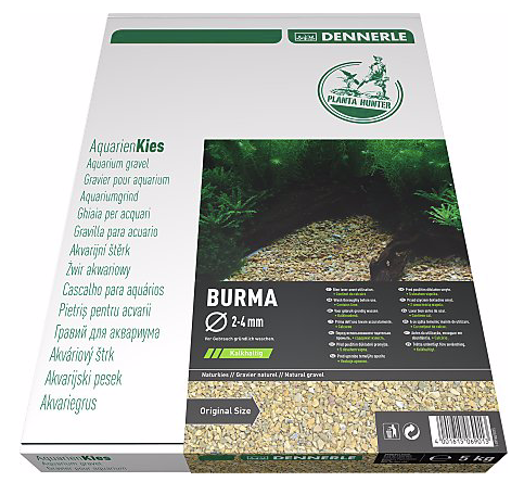 DENNERLE PlantaHunter Natural Gravel (BURMA / 5KG / 12-15mm)
