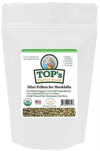 TOP Mini Pellets for Hookbills