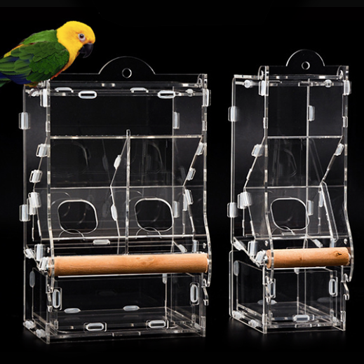 FIDS-PLAY ALTO MINI Bird Feeder Box (Acrylic / Hanging)