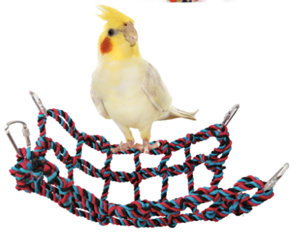 FIDS-PLAY Climbing Net / Hammock (Color Rope Type)