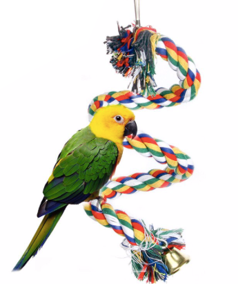 FIDS-PLAY ROPE PERCH (Hanging Type)