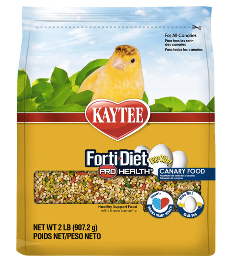 KAYTEE FORTI-DIET Egg-Cite! Canary Food (2lb)