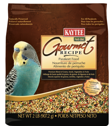 KAYTEE Gourmet Recipe Parakeet Food (2lb)