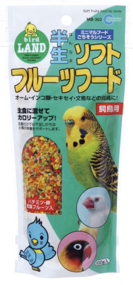 MARUKAN Soft Fruit for Birds (MB302)