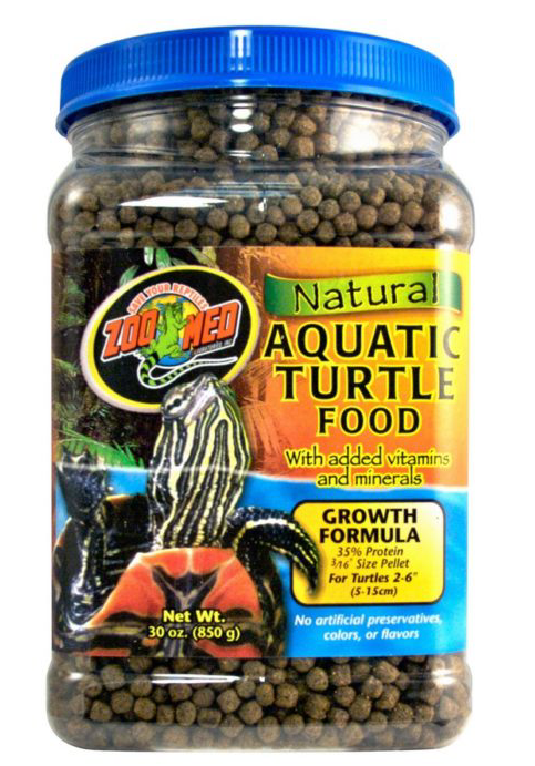 ZOO MED Natural Turtle Food (Growth Formula)