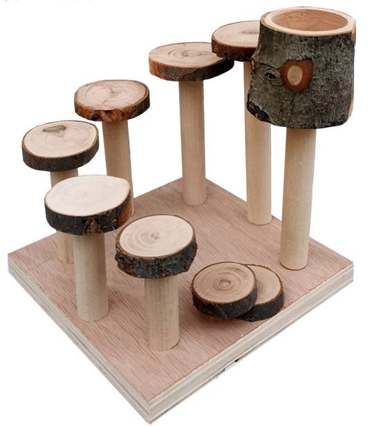 FIDS-PLAY PLAY GROUND Station (Log Garden)