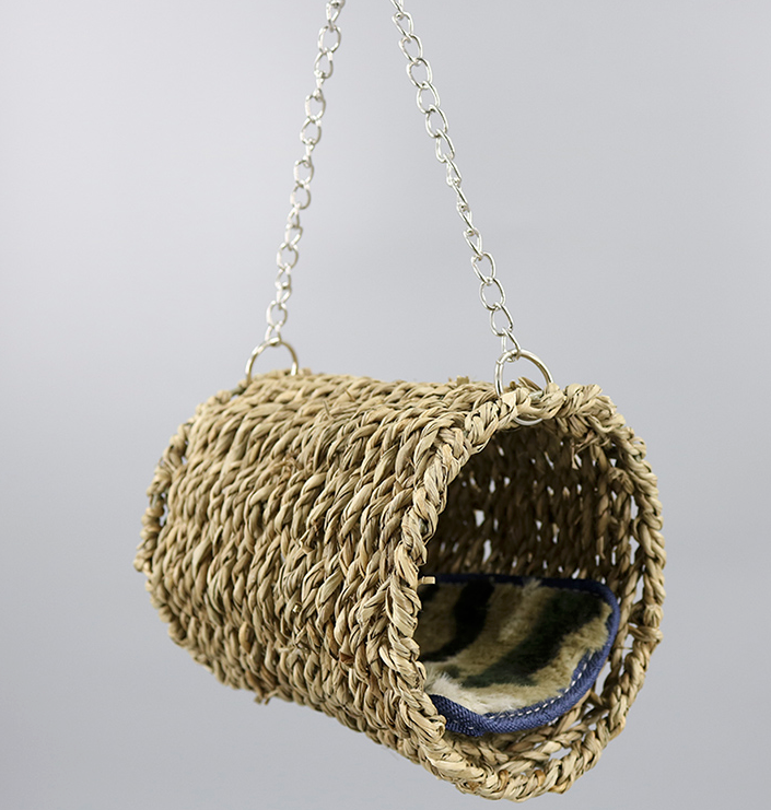 FIDS-PLAY SWING PERCH (Straw / 12.5 x 10cm)