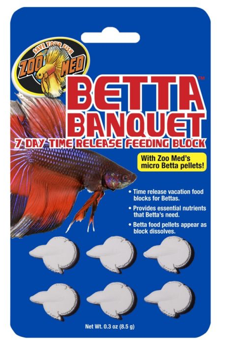 ZOO MED Betta Banquet Block