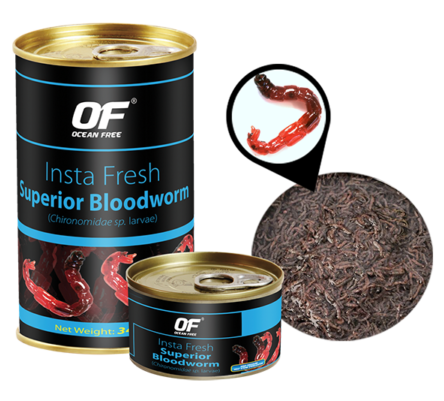 OF Insta Fresh Superior Bloodworm (100g / Canned)