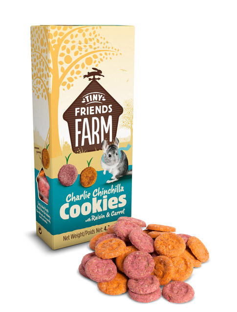 SUPREME Charlie Cookies (with raisin and carrot / 120g)