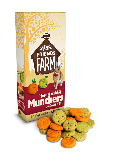 SUPREME Russel Munchers with Carrot & Pea (120g)