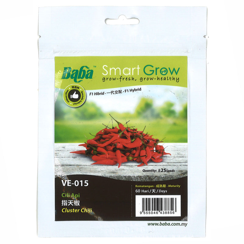 BABA Seed VE-015 Cluster Chilli 指天椒