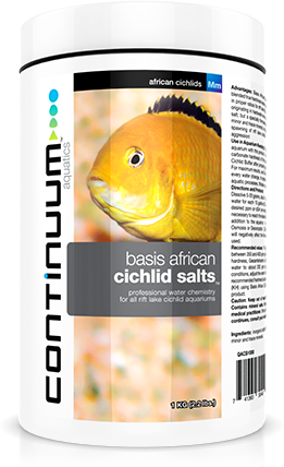 CONTINUUM Basis African Cichlids Salts (250g)