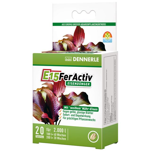 DENNERLE E15 FerActiv (20 Tabs)