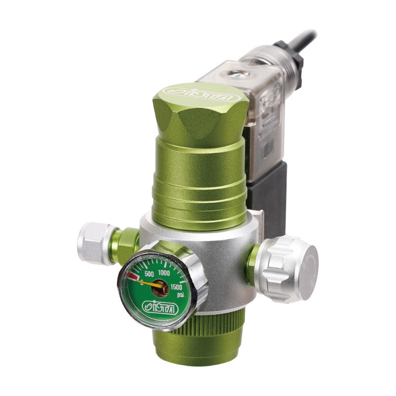 ISTA Single Gauge Pressure Reduced Controller (Green)