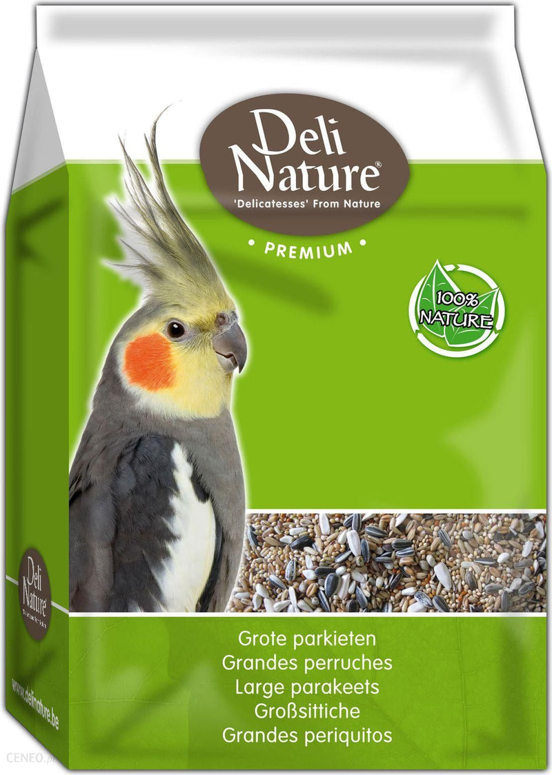 DELI NATURE Premium Parakeets Mixture (1KG)