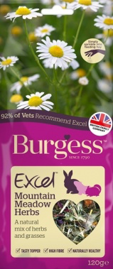 BURGESS Snacks Mountain Meadow Herbs (120g)