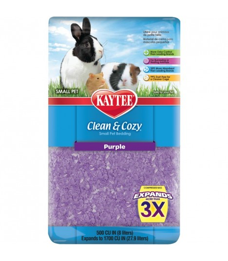 KAYTEE Clean & Cozy Purple (500cu / 24.6L)