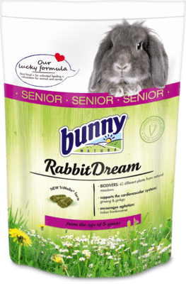 BUNNY Nature Rabbit Dream SENIOR (1.5Kg)