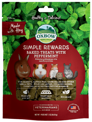 OXBOW Simple Rewards Baked Treats with Peppermint (85g)