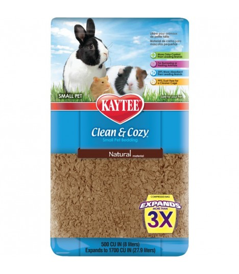 KAYTEE Clean & Cozy NATURAL (500cu / 24.6L)