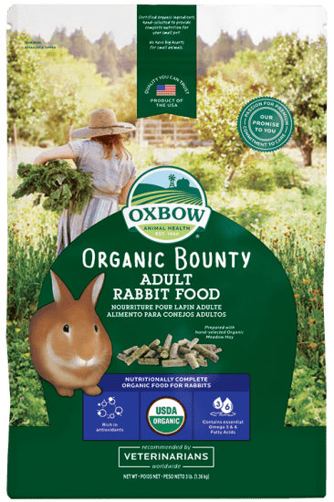 OXBOW Organic Bounty Adult Rabbit Food (3lb)