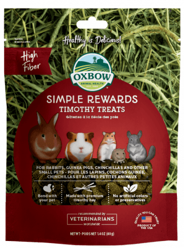 OXBOW Simple Rewards Timothy (40g)