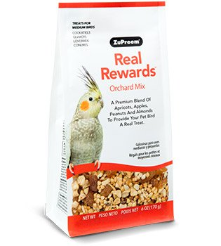 ZUPREEM Real Rewards® Orchard Mix (Medium Birds / 170g)
