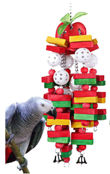 FIDS-PLAY CHEWABLE TOY (Pendant F / 50-55cm)