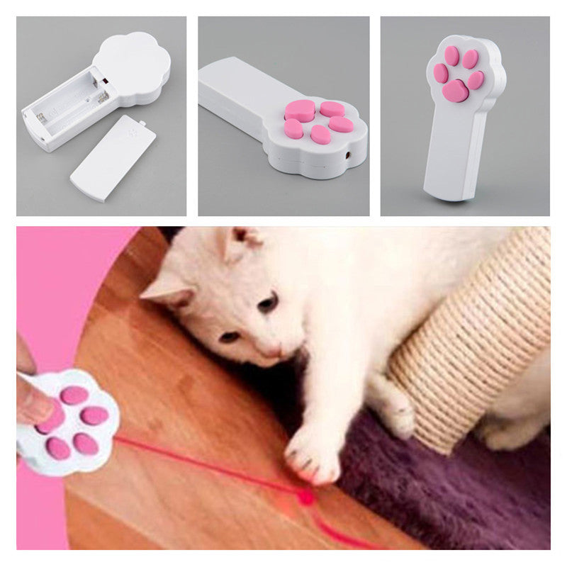 The Pawsome Red Laser Pointer Exercise Toy - Funny Interactive Beam
