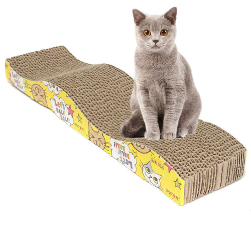 Cat Claws Care Corrugated Scratch Board Pad