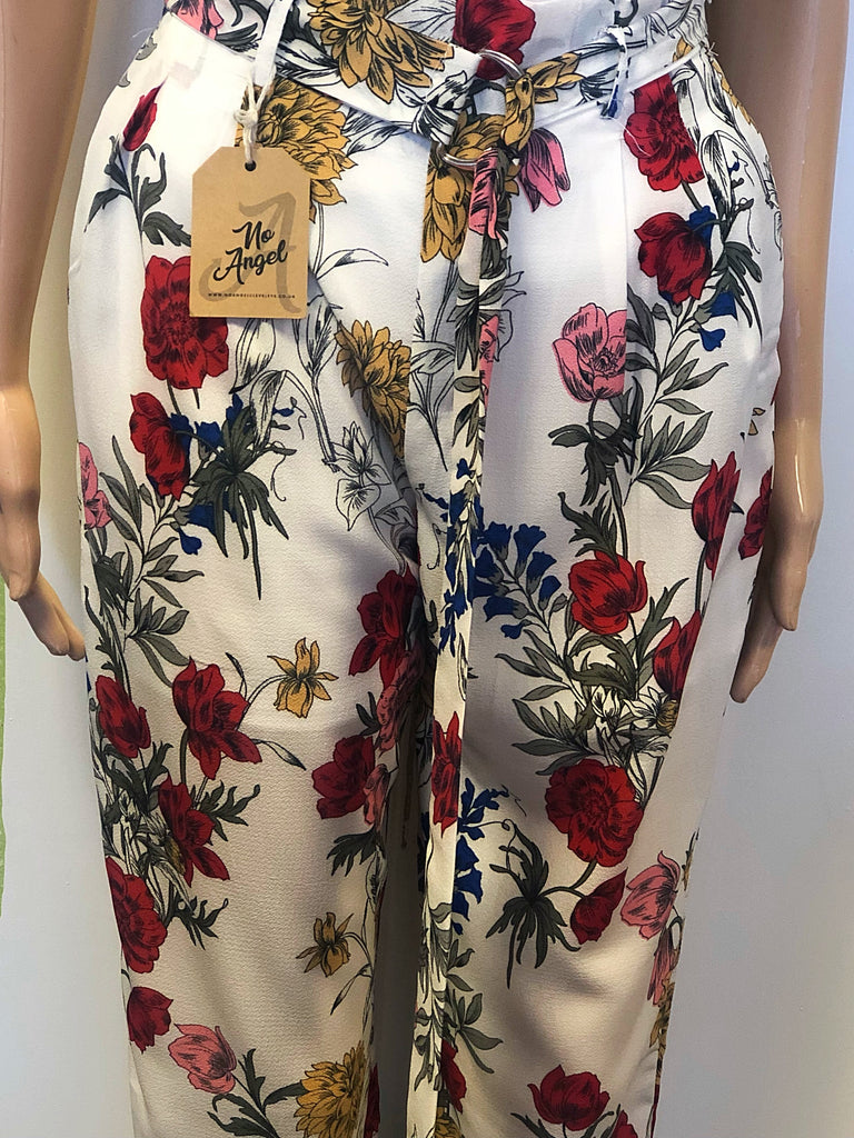 Floral & Leaf Trousers