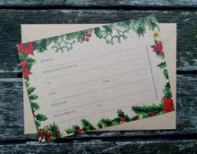 Winter Leaves Fill-in-yourself evening/party/blank invitations