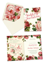 Love Letters A6 Folded Invitation