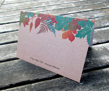 Thank You Cards: Autumn Leaves