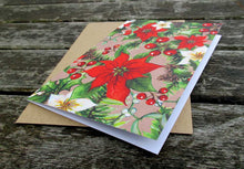 Thank You Cards: Winter Leaves