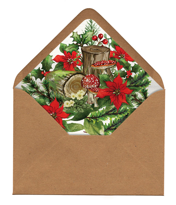 Winter Woodland Venue Envelope Liners