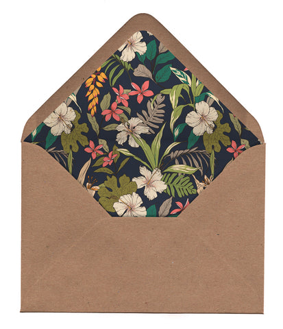 NEW Tropical Travel Envelope Liners
