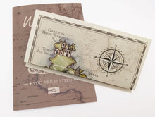 A5 paper folded map to match NEW Vintage Travel Passport