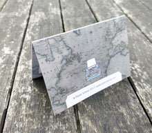 Mini A7 Folded Thank You Cards: New Vintage Travel