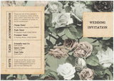 Paper & Roses A6 Folded Invitation
