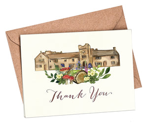 Woodland Venue Thank You Cards
