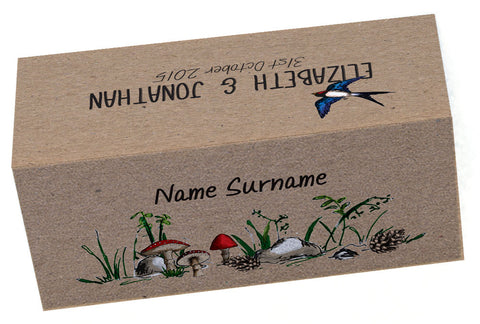 Woodland Walk Place Cards (with names)