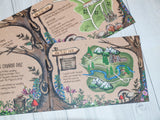 Woodland Walk A6 Folded Landscape Invitation
