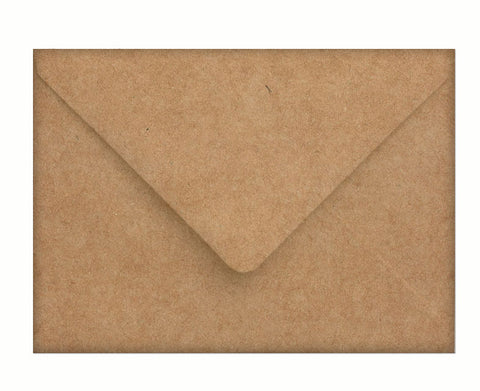 A7 kraft envelopes