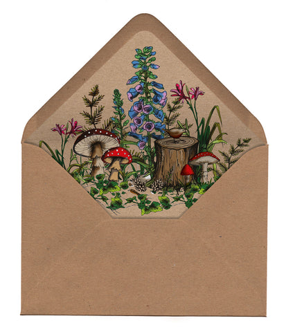 Woodland Walk Envelope Liners
