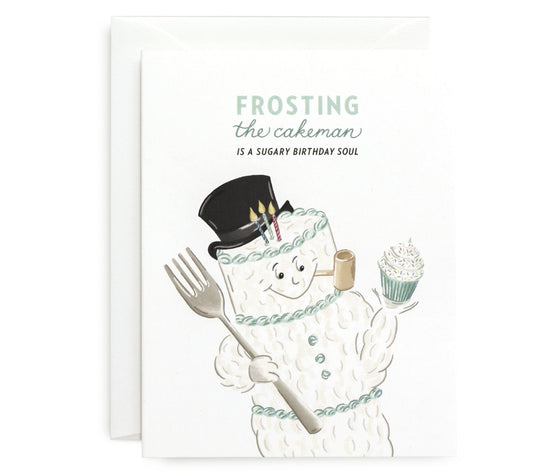 Frosting The Cakeman Card