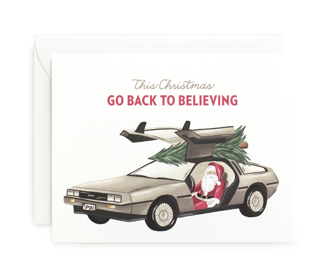 Back to Believing Card
