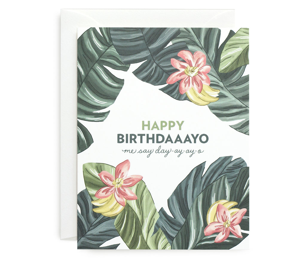 Birthdaaayo Card